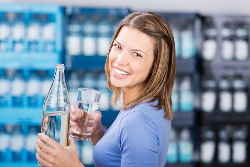 Wasserkur, Wasser trinken, Wasser
