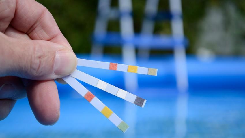 Wassertest - gesundes Wasser