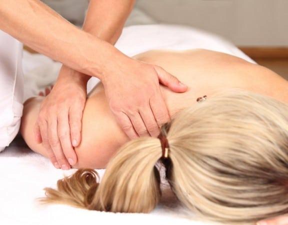 Rückenschmerzen -Professionelle Massage