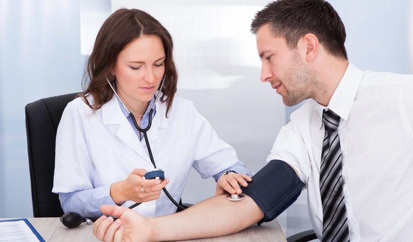 Wasser gegen hohen Blutdruck