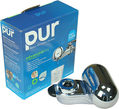Wasserfilter für den Wasserhahn PUR