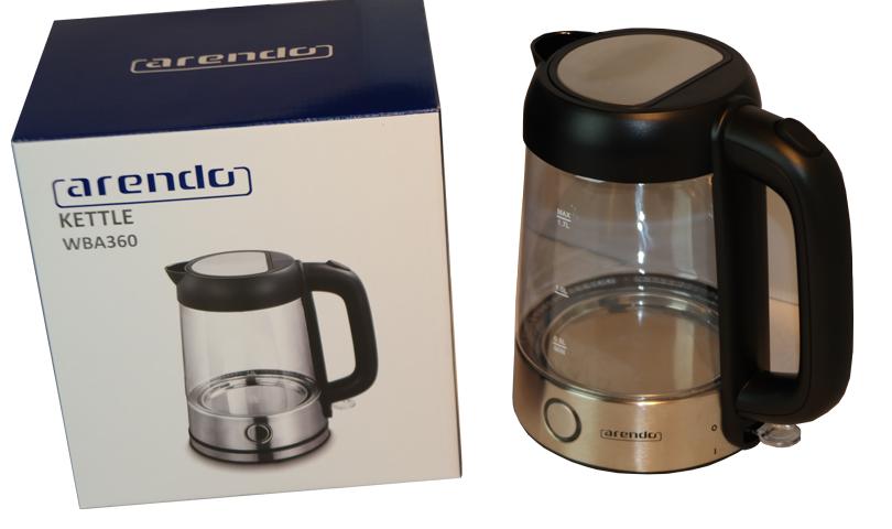 Der Arendo Edelstahl Glas Wasserkocher im Test